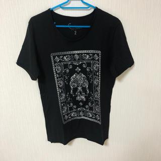 カスタムカルチャー(CUSTOM CULTURE)のカスタムカルチャー スカルTシャツ サイズ2 カラーブラック(Tシャツ/カットソー(半袖/袖なし))