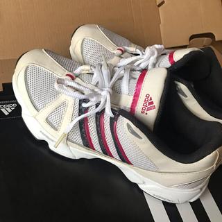 アディダス(adidas)のadidas ランニングシューズ レディース  24.5cm(ランニング/ジョギング)
