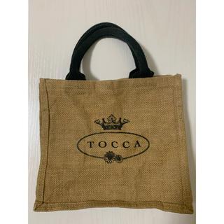 トッカ(TOCCA)の【トッカ】ペーパーバッグかごバッグ麻(かごバッグ/ストローバッグ)