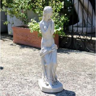 ガーデンオーナメント 女性像 ガーデニング インテリア 庭園家具 輸入雑貨(置物)