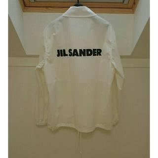 ジルサンダー(Jil Sander)のJIL SANDER ジルサンダー ロゴ コーチジャケット アウトドアジャケット(その他)