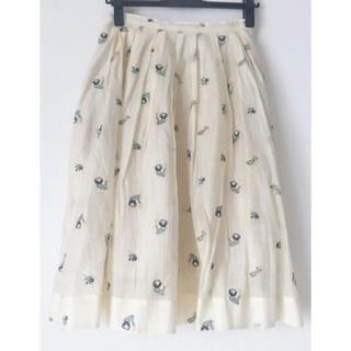 デイシー(deicy)の花柄スカート、ブラウス  セットアップ(ひざ丈スカート)