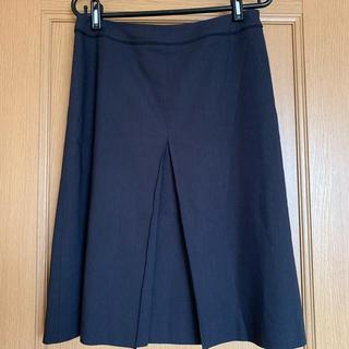 ジェイプレスレディス(J.PRESS LADIES)のJプレスのボックスプリーツスカート(ひざ丈スカート)