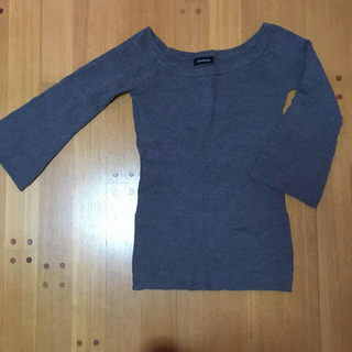 エゴイスト(EGOIST)のEGOIST オフショル薄手セーター(ニット/セーター)