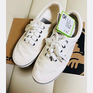 クロックス(crocs)の未使用品 ☆クロックス スニーカー☆ 白 26cm  M8(スニーカー)