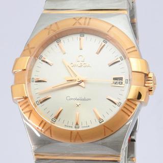 オメガ(OMEGA)のオメガ メンズ OMEGA コンステレーション SS K18PG アイボリー (腕時計(デジタル))