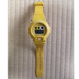 ジーショック(G-SHOCK)の【美品】CASIO G-SHOCK GD-6900HT イエロー(腕時計(デジタル))