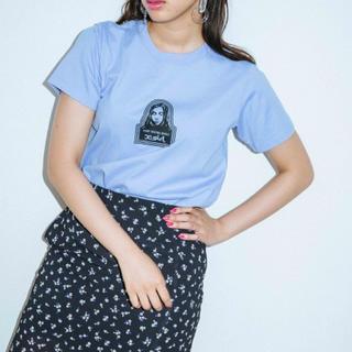 エックスガール(X-girl)のx-girl FACE S/S REGULAR TEE(Tシャツ(半袖/袖なし))