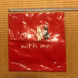 ヤマザキセイパン(山崎製パン)のリサとガスパールのトートバッグ 赤色  Pasco(トートバッグ)