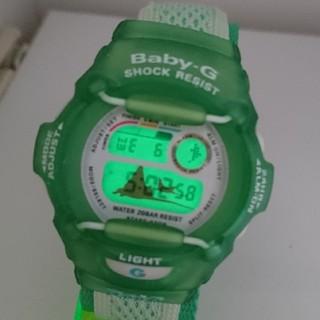 ベビージー(Baby-G)のBaby-G 370 wccs マンタ グリーン(腕時計)