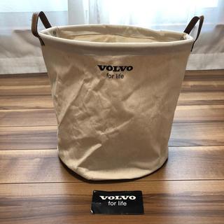 ボルボ(Volvo)の【新品未使用】VOLVO ランドリーバッグ ボルボ 洗濯カゴ(車外アクセサリ)