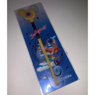 ディズニー(Disney)のディズニーシー10周年 ブックマーク ジーニー(しおり/ステッカー)