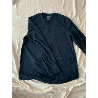 アメリカンイーグル(American Eagle)のアメリカンイーグル メンズ 長袖トップス(Tシャツ/カットソー(七分/長袖))