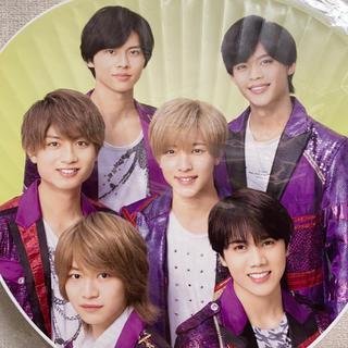 ジャニーズジュニア(ジャニーズJr.)の7 MEN 侍 団扇(アイドルグッズ)