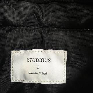 ステュディオス(STUDIOUS)のバッグパック リュック STUDIOUS 黒(バッグパック/リュック)
