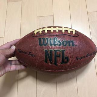 ウィルソン(wilson)のアメフトボール Wilson 中古 革(アメリカンフットボール)