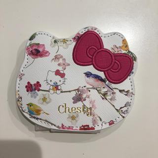 チェスティ(Chesty)のChesty × ハローキティ コンパクトミラー(ミラー)