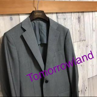 トゥモローランド(TOMORROWLAND)のTomorrowland カノニコ生地テーラードジャケット ロロピアーナ レダ(テーラードジャケット)