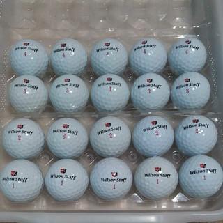 ウィルソンスタッフ(Wilson Staff)のロストボール① Wilson DX2 SOFT 20球(その他)