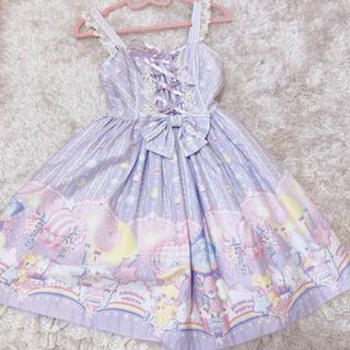 アンジェリックプリティー(Angelic Pretty)のcottonCandy shop ジャンスカ(スカジャン)