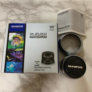 オリンパス(OLYMPUS)のOLYMPUS 25mm f1.8 単焦点レンズ(レンズ(単焦点))