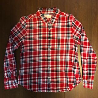 レピピアルマリオ(repipi armario)のrepipiarmario レピピアルマリオ チェック シャツ(ジャケット/上着)