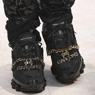 コムデギャルソン(COMME des GARCONS)のCOMME des GARCONS Nike SHOX TL 24.5cm(スニーカー)