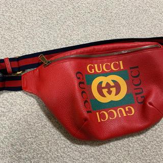 グッチ(Gucci)のGUCCI ウエストバッグ(メッセンジャーバッグ)