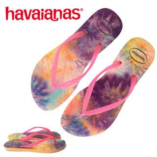 ハワイアナス(havaianas)の新品 ハワイアナス HAVAIANAS TIEDYE ビーチサンダル  サンダル(ビーチサンダル)