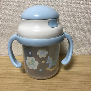 アフタヌーンティー(AfternoonTea)のアフタヌーンティー水色ストローマグ(水筒)