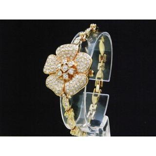 アビステ(ABISTE)のABISTE 腕時計 お花 ブレスレットウォッチ ゴールド(腕時計)