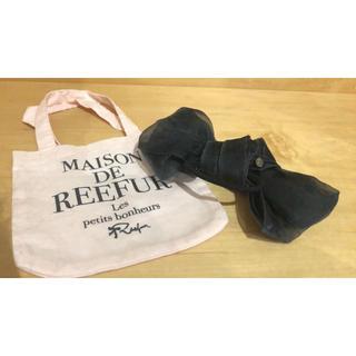 メゾンドリーファー(Maison de Reefur)のMaison de Reefur ゴム ブラック (ヘアゴム/シュシュ)