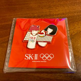 エスケーツー(SK-II)のSK-2 非売品 バレーボール ピンバッジ(バッジ/ピンバッジ)