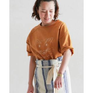 ノンブルアンベール(nombre impair)のCatプリント ワイドTシャツ(Tシャツ(半袖/袖なし))