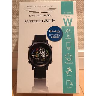 アサヒゴルフ(朝日ゴルフ)の【保証書日付2020.4.27】イーグルビジョン ウォッチエース GPS腕時計(その他)