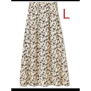 シマムラ(しまむら)のしまむら 小花柄フレアスカート L フェミニン 福袋(ロングスカート)