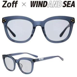 ゾフ(Zoff)の新品 Zoff WIND AND SEA キムタク着用 グレイ ゾフ(サングラス/メガネ)