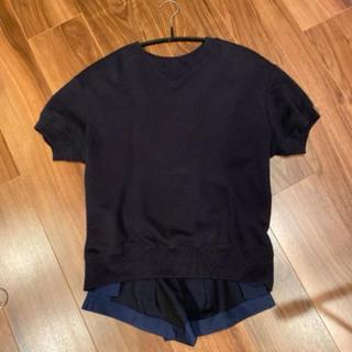 サカイ(sacai)のsacai 100%cotton (Tシャツ/カットソー(半袖/袖なし))