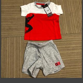 アディダス(adidas)のadidas 子供服 半ズボン 上下セット スパイダーマン(Tシャツ)