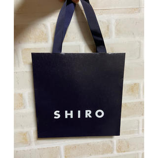 シロ(shiro)のSHIRO ショップ袋 (ショップ袋)