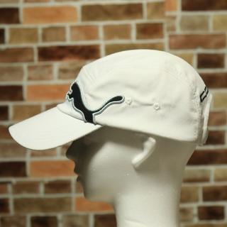 キャップ 帽子 ゴルフ プーマ cobra 未使用 ロゴ 刺繍 ワッペン フリー