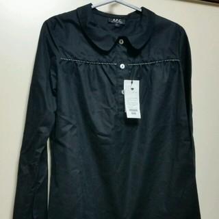 APC(A.P.C) 丸襟ブラウス シャツ/ブラウス(レディース/長袖)の通販 7点