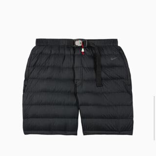 ナイキ(NIKE)のTom Sachs Down shorts 黒 M(ショートパンツ)