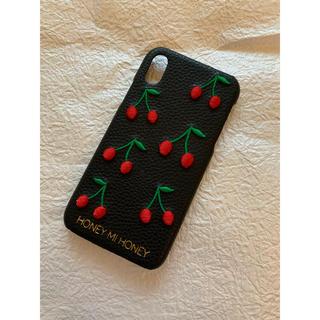 ハニーミーハニー(Honey mi Honey)のHONEYMIHONEY 背面型iPhoneケース iPhoneX/XS兼用(iPhoneケース)