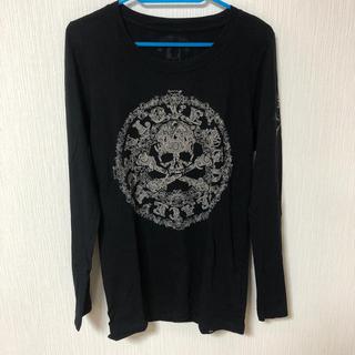ロエン(Roen)の Roen ロエン ロンT サイズ44 ブラック(Tシャツ/カットソー(七分/長袖))