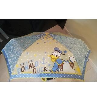 ディズニー(Disney)のドナルドダック 折りたたみ傘 耐風骨 53cm(傘)
