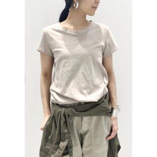 アパルトモンドゥーズィエムクラス(L'Appartement DEUXIEME CLASSE)のL'Appartement アパルトモン LA CA USA Tシャツ ベージュ(Tシャツ(半袖/袖なし))