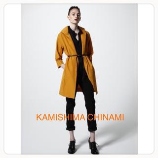 カミシマチナミ(KAMISHIMA CHINAMI)の【お値下げ】変形襟 スプリングコート(スプリングコート)