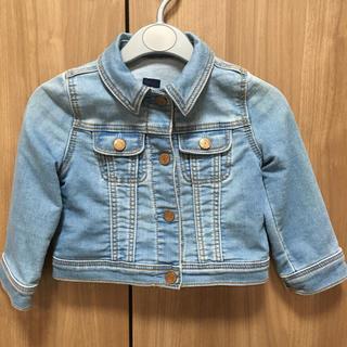 ベビーギャップ(babyGAP)のbaby GAP 90cm 女の子 デニムジャケット 中古品(ジャケット/上着)