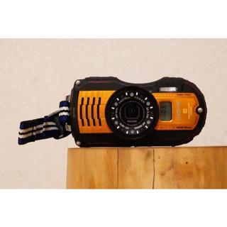 リコー(RICOH)のRICOH WG-5 GPS オレンジ14m防水(コンパクトデジタルカメラ)